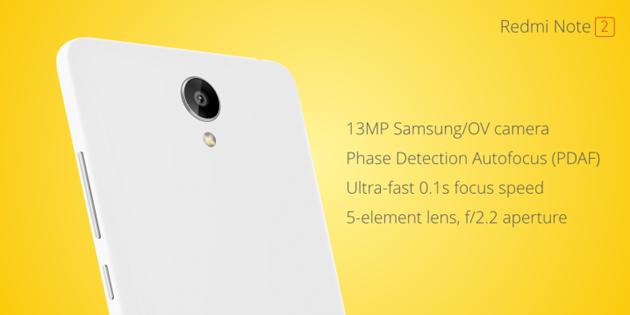 Harga dan Spesifikasi Xiaomi Redmi Note 2