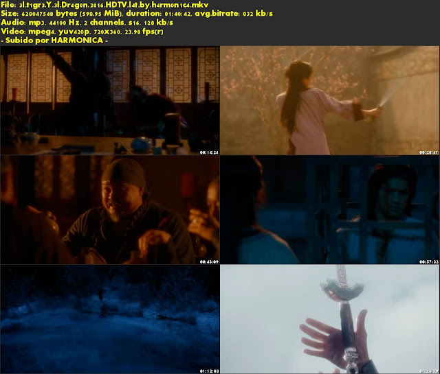 Descargar El Tigre y El Dragón 2: La espada del destino Latino por MEGA.