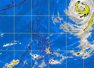 Typhoon Urduja enters PAR by PAGASA October 2013