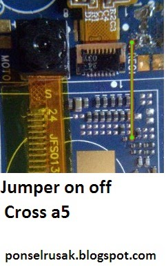 Image line power on jumper way cross the a5