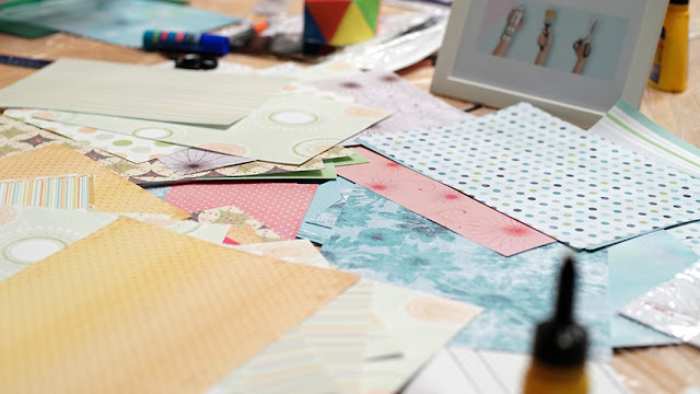 papel scrapbook creative park