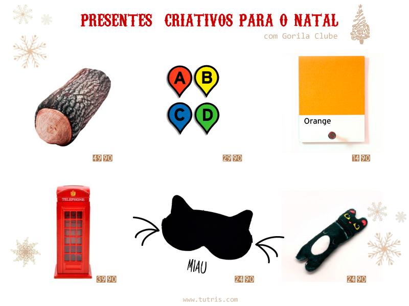 Presentes Criativos para o Natal – Brainstorms