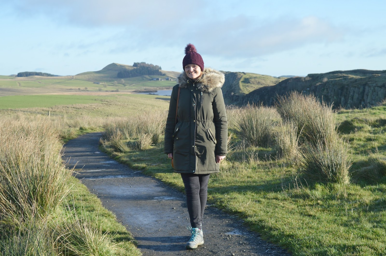 Walking Hadrian's Wall in Winter