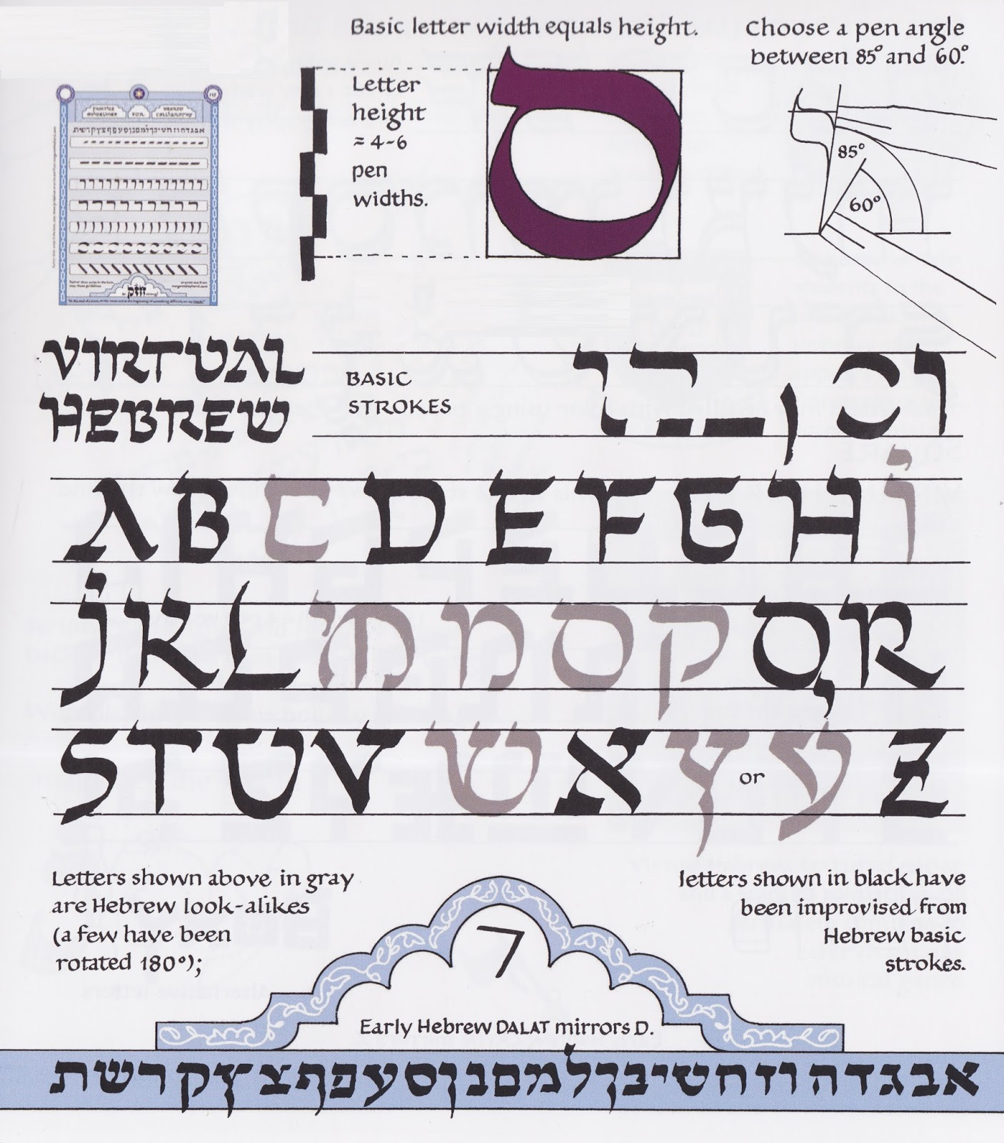 Margaret Shepherd Calligraphy Blog 218 At One