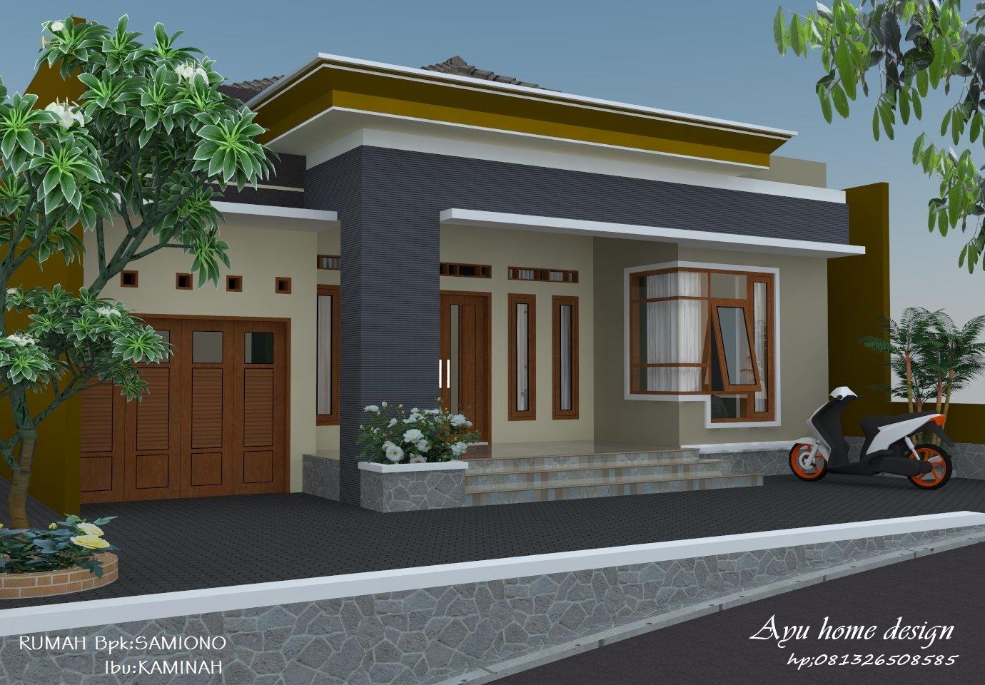 Rumah Minimalis Di Desa Arsitek Rumahan