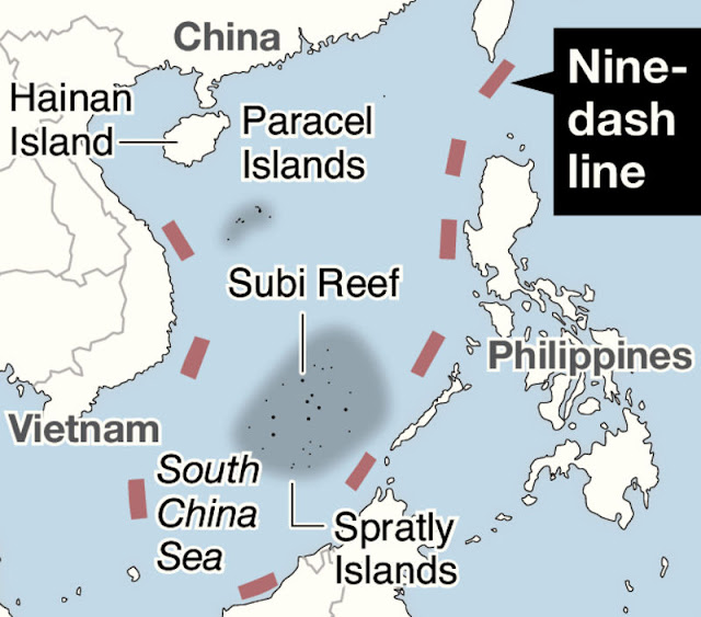 G-7 to demand China respect intl ruling over South China Sea