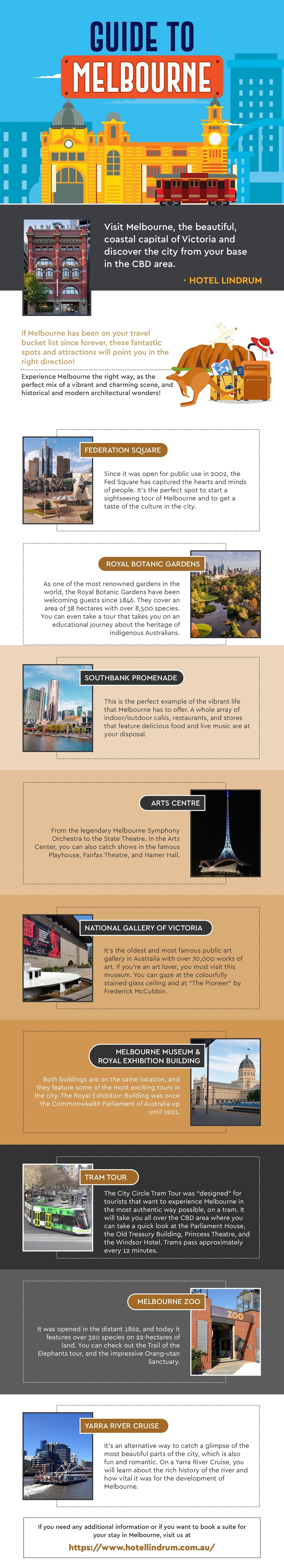 Guide to Melbourne #infographic