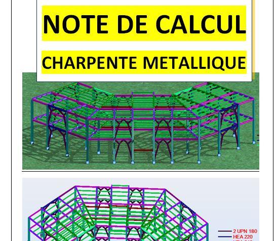 Exemples De Note De Calcul Charpente Métallique Pdf Cours