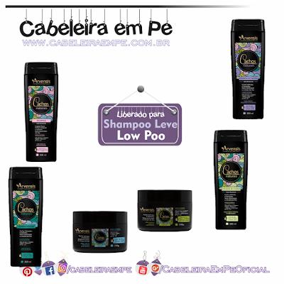 Linha Cachos Naturais Arvensis (Shampoo, condicionador, máscaras e ativadores de cachos liberados para Low Poo)