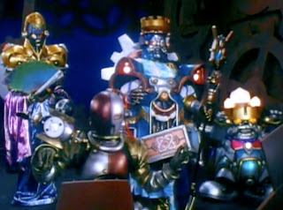 Power Rangers Zeo Machine Empire King Mondo Queen Machine Prince Sprocket Clank Orbus Villains