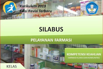 Silabus Pelayanan Farmasi Kelas XII SMK/MAK Kurikulum 2013 Revisi 2018