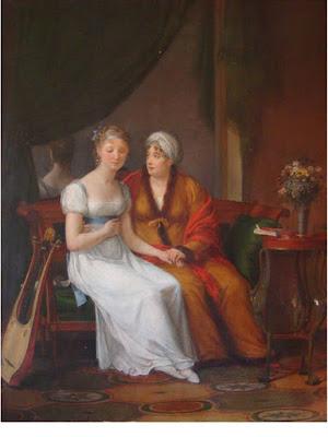 Une Mère recevant Les Confidences de sa Fille, Constance charpentier