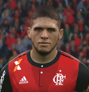 PES 2017 Faces Gustavo Cuellar by FaceEditor Jefferson_SF
