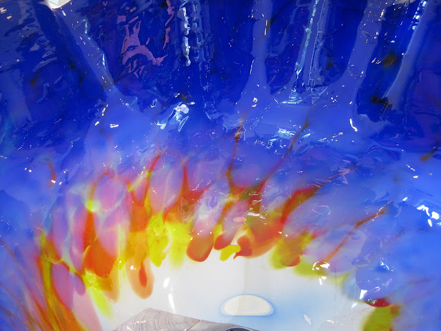 bowl detail from Chihuly's Macchia Colleciton
