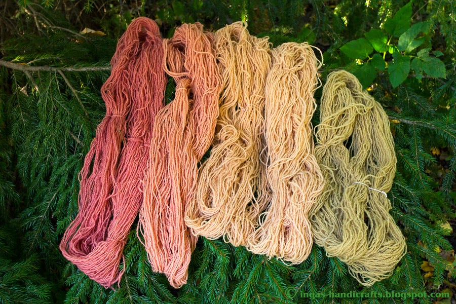 Seentega värvitud Natural Dyes surprise webcap verkjas vöödik