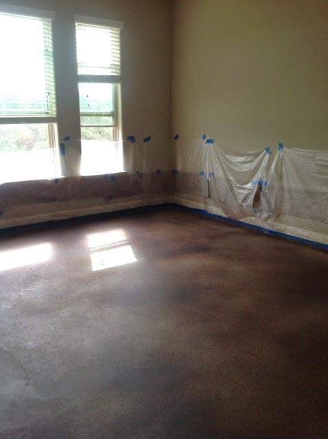 Behr Decorative Concrete Dye Instructions