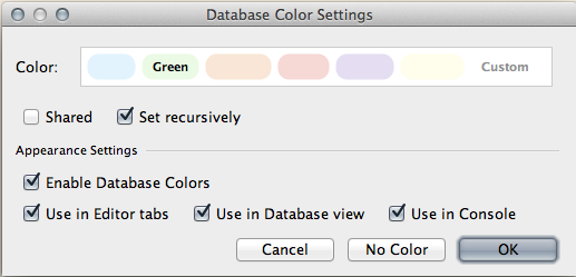 Coloring Different Data Sources in IntelliJ IDEA - Messages from mrhaki