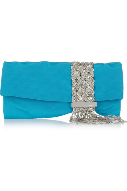 Jimmy Choo's Chandra Crystal Embellished Clutch