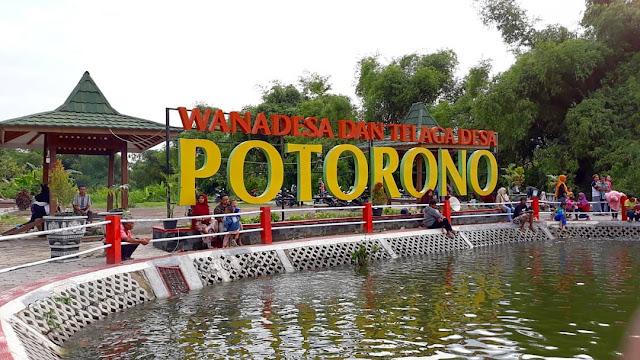 Wisata Telaga Salakan Potorono, Bantul Yogyakarta