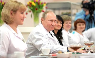 Vladimir Putin, Medical stuff.