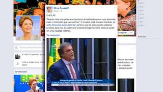 La jefa de Estado fue apartada este jueves del Gobierno de Brasil, al final de una sesión histórica en la que una gran mayoría del Senado votó a favor de iniciarle un juicio de destitución.