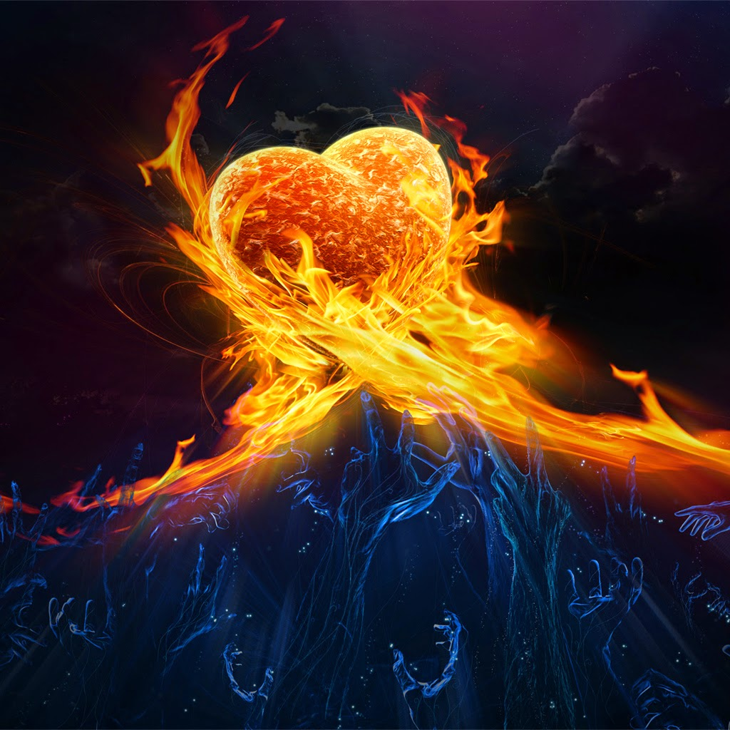 love Heart on fire .jpg