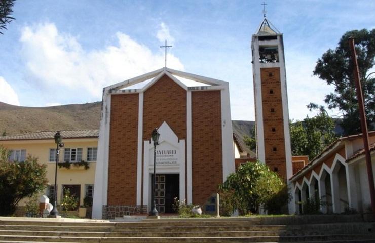 Pocona iglesia sitios turisticos de Cochabamba Bolivia