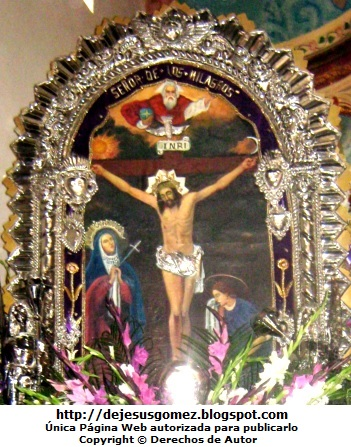 Imagen del Señor de los Milagros de Jesus Gómez