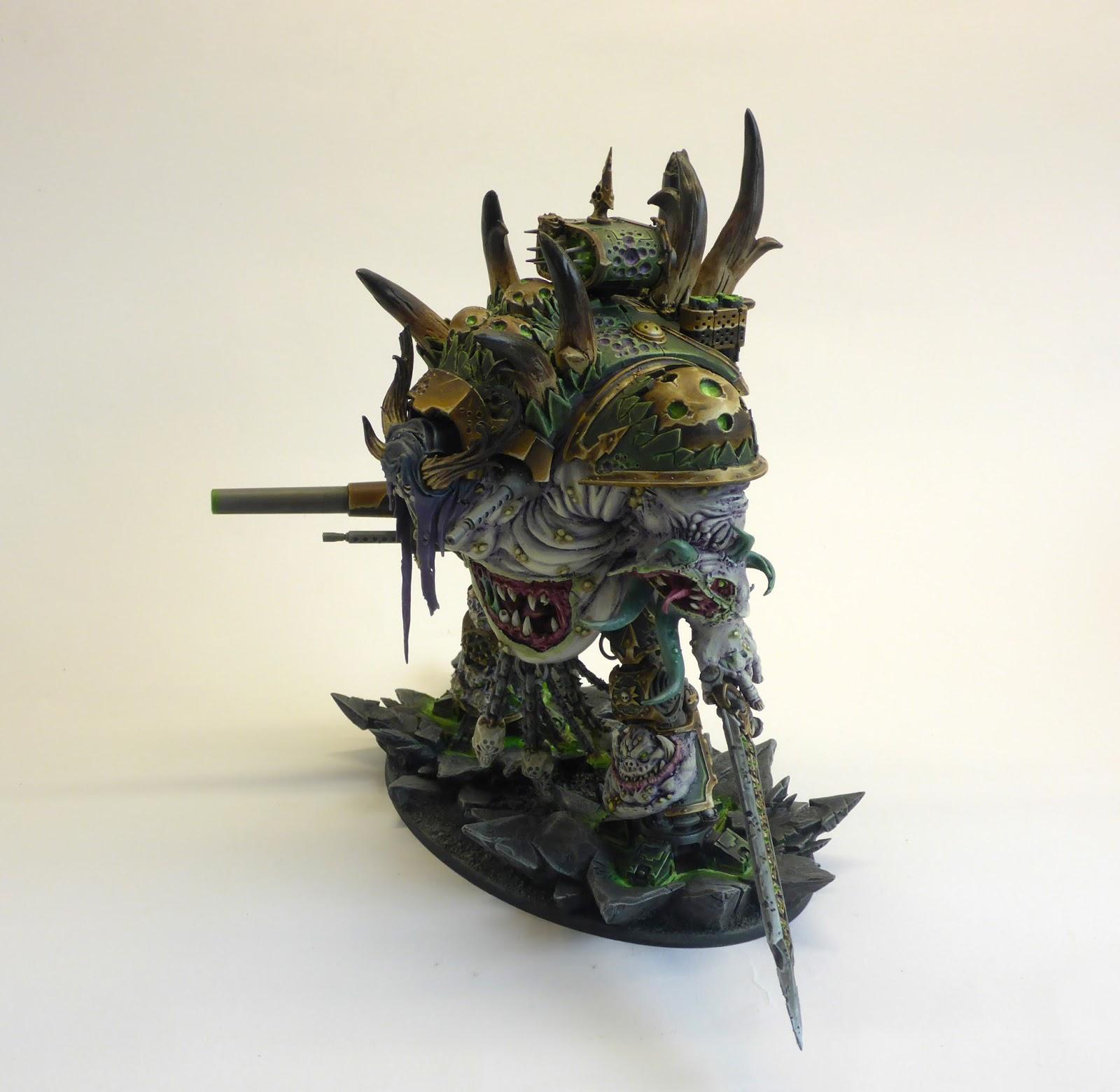 Bluewarp studios: Nurgle Imperial Knight pt6 (complete)