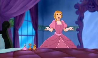 Cinderella before a mirror Cinderella II: Dreams Come True 2002 animatedfilmreviews.filminspector.com
