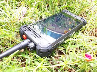 Hape Plus HT Runbo M1 New DMR UHF Android 4G LTE IP67 Certified Baterai 5300mAh