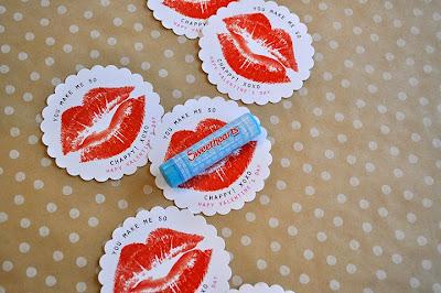 Lip Balm Valentine Printables @michellepaigeblogs.com