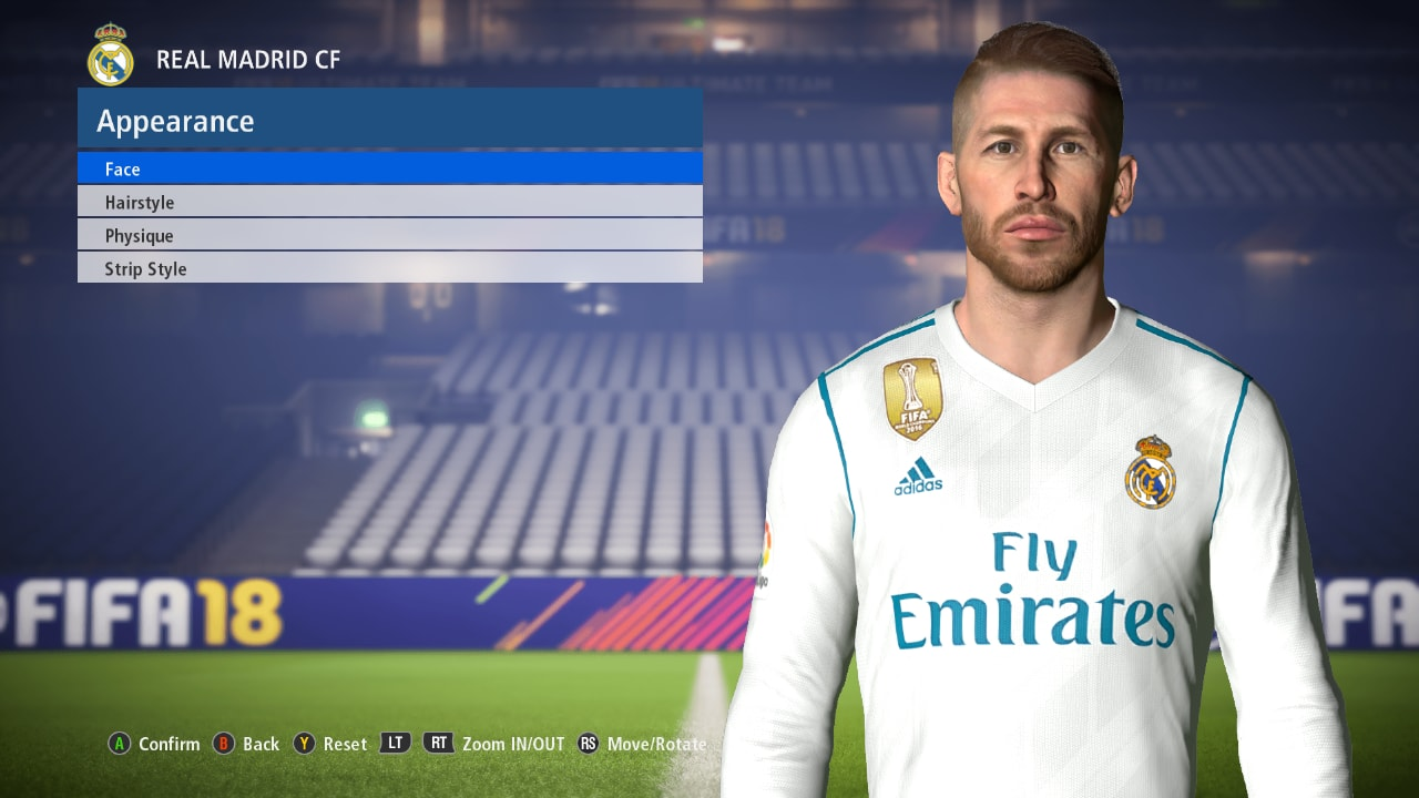 Pes Modif Pes 2017 S Ramos Face Update Fix By Ahmed