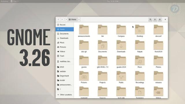 GNOME Shell 3.26