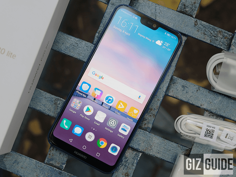 Huawei P20 lite with 128GB storage will be available in the Philippines soon!