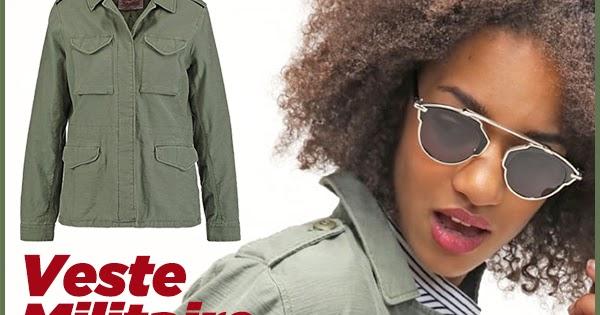 Veste militaire femme levis