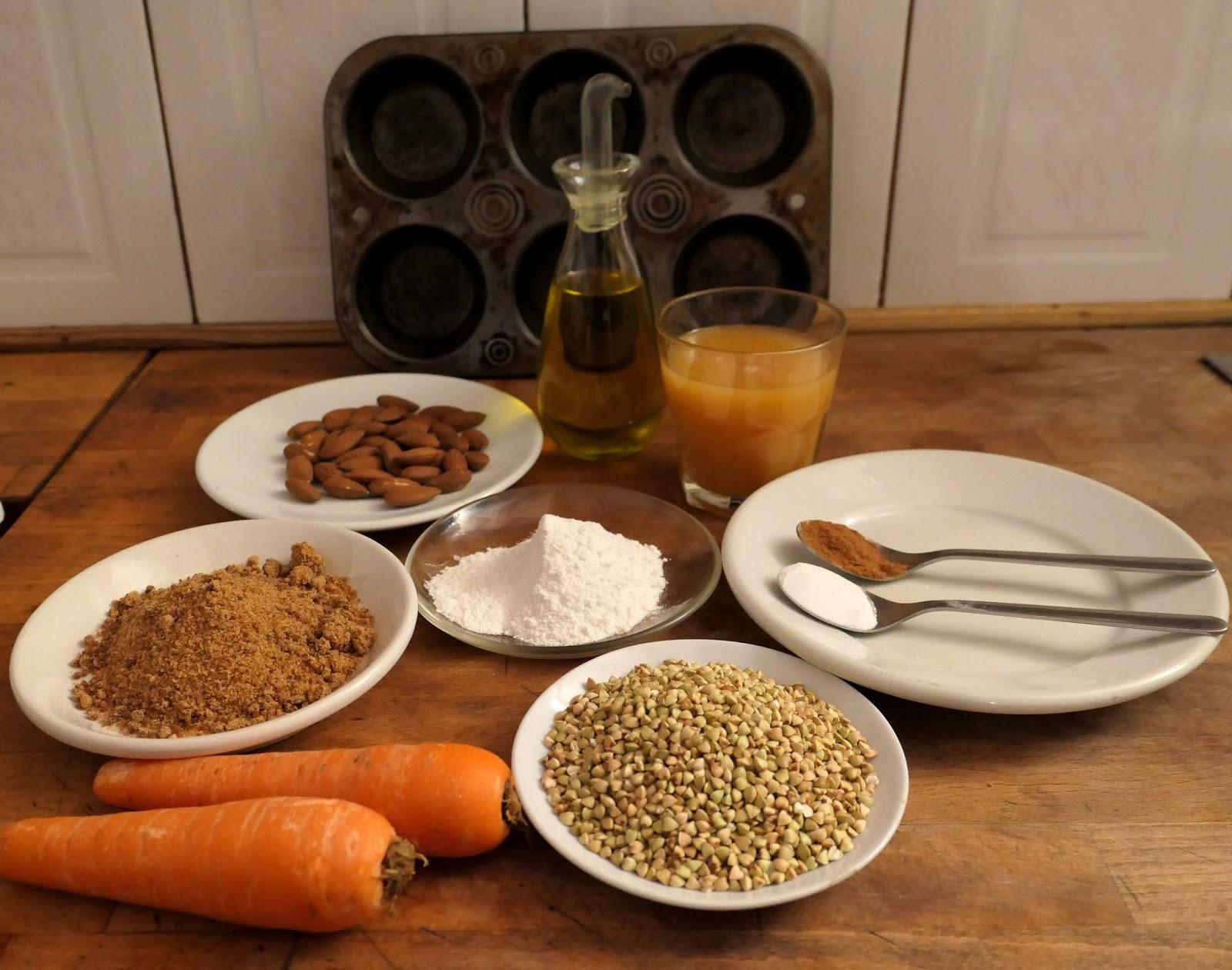 Cocinar sin bizcocho de trigo sarraceno con manzana y pera for Cocinar trigo