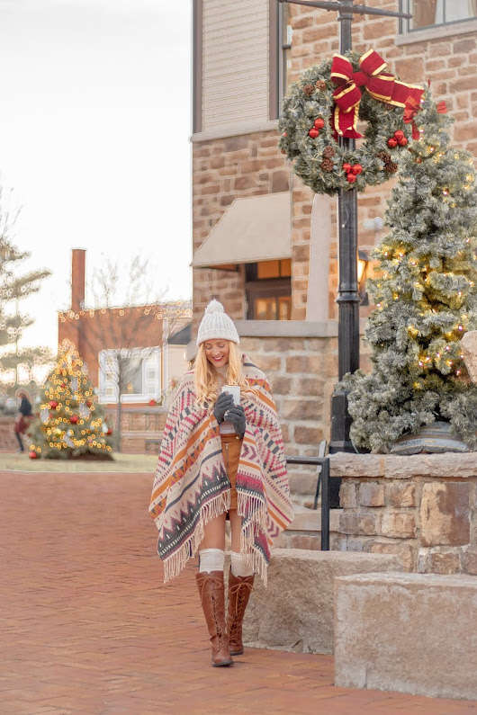 Style | Festive + Cozy OOTD With JustFab