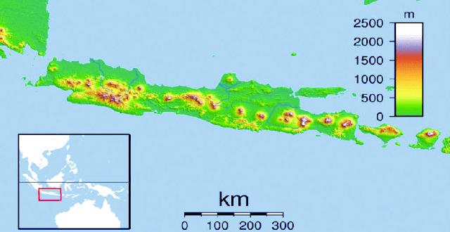 Profil Singkat Geografi Pulau Jawa