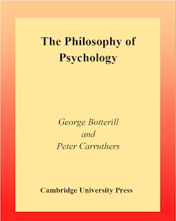 The Philosophy Of Psychology - George Botterill
