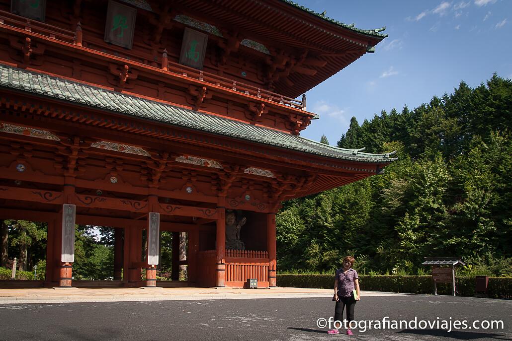 Puerta Daimon Koyasan o monte Koya