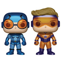 Blue Beetle & Booster Gold Px Previews 2-pack Metálico
