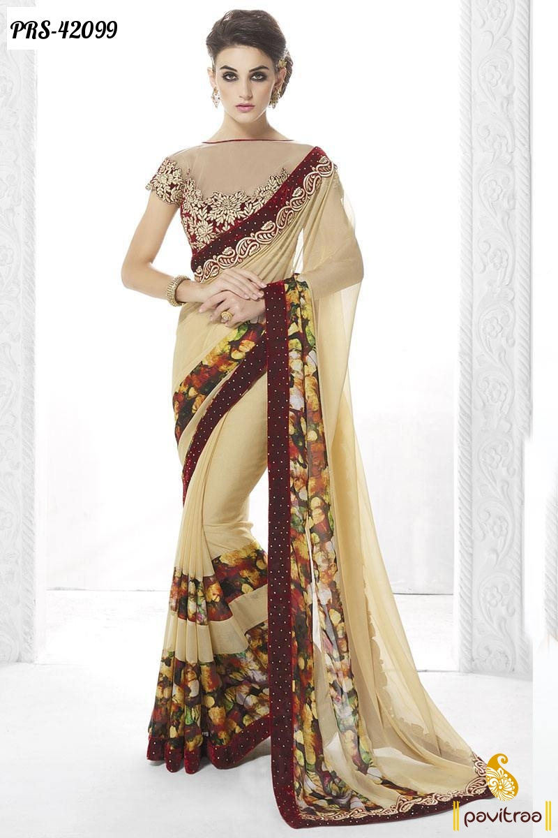 Indian designer sarees collection online women clothing for Online designs