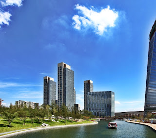 Songdo Central Park Canal