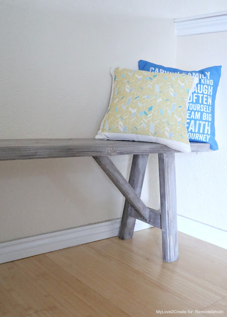 How to build a bench with limited tools
