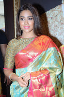 Shriya Saran Looks Stunning in Silk Saree at VRK Silk Showroom Launch Secundrabad ~  Exclusive 093.JPG