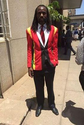 Zimbabwean lawmaker is refused entry into Parliament because of his colourful suit