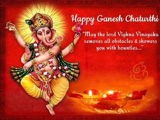 Happy Ganesh Chaturthi quotes 2016