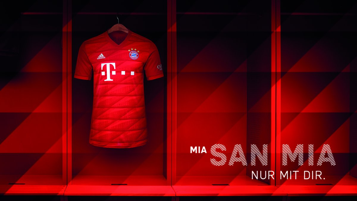 Bayern Munich 19-20 Home Kit Released - Footy Headlines