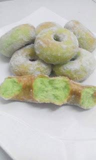 Resepi Donut Pandan Big Apple